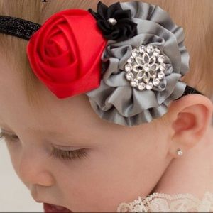 Other - Simply Stunning  Headband - Baby Girl Satin Bow